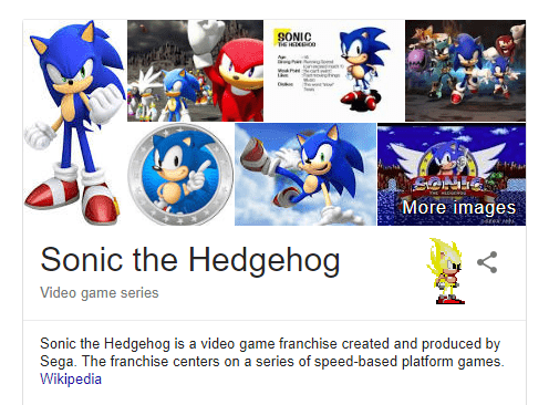 Smart Juan Google Sonic The Hedgehog min - Fun Google Tricks That You Should Try Now
