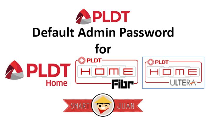 PLDT Default Modem / Router Admin Passwords 2018 [Updated]